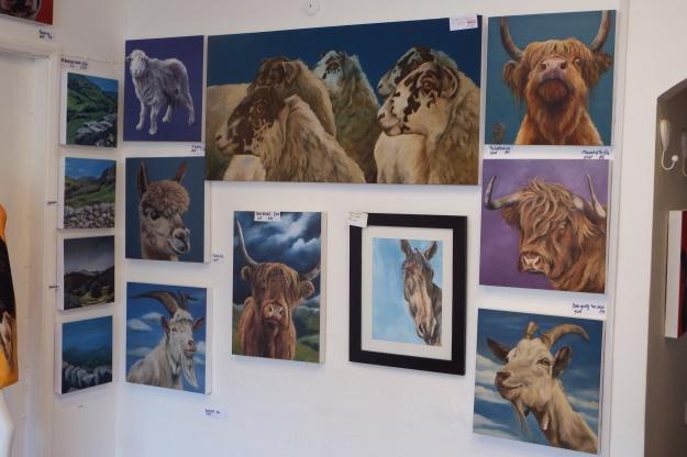 thulines animal paintings